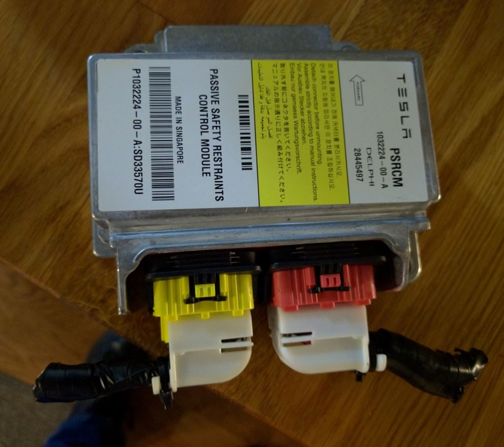 PSRCM - Passive Safety Restraints Control Module