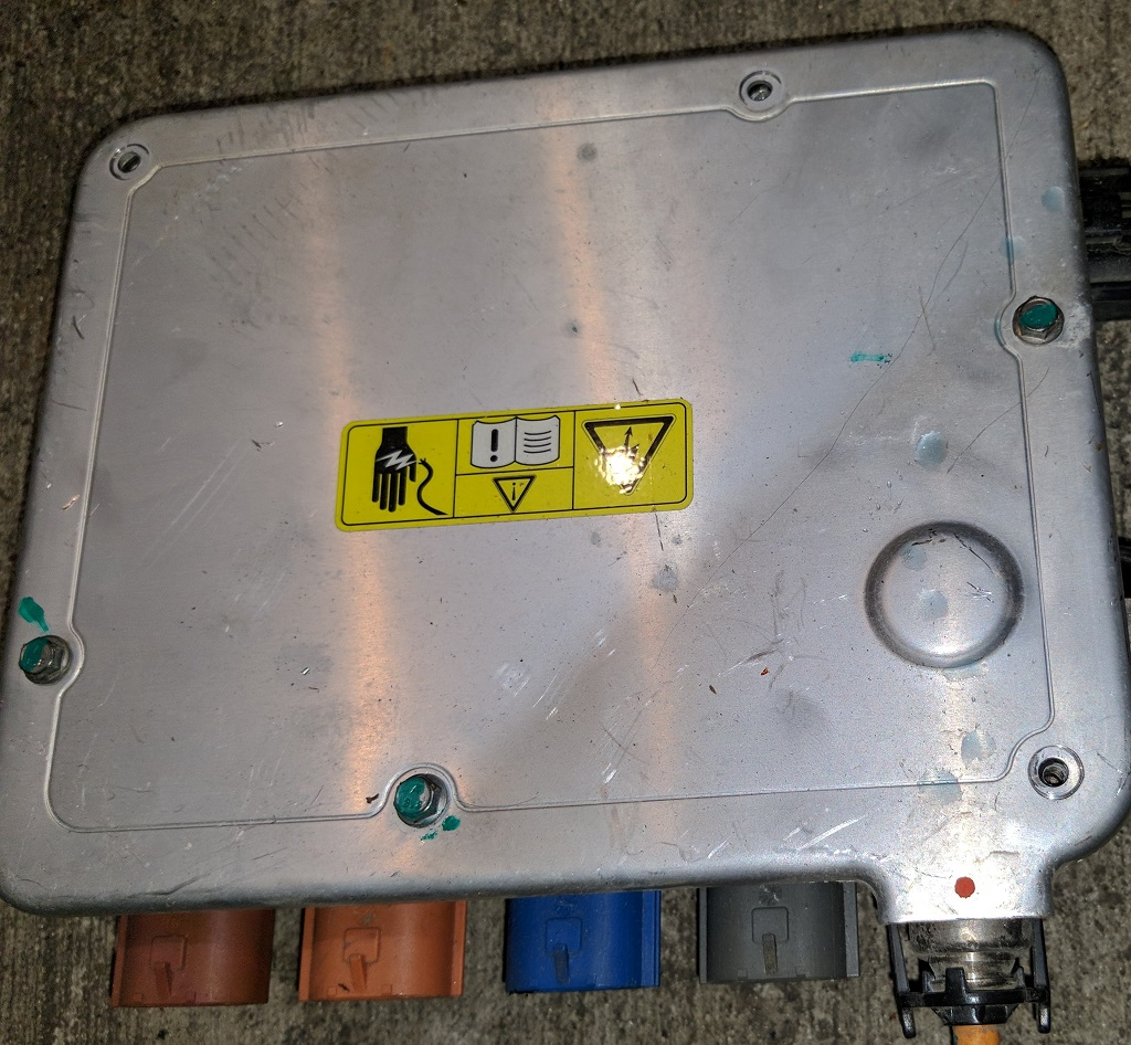 Front High Voltage Junction Box (FHVJB), Front, Model S (copy)